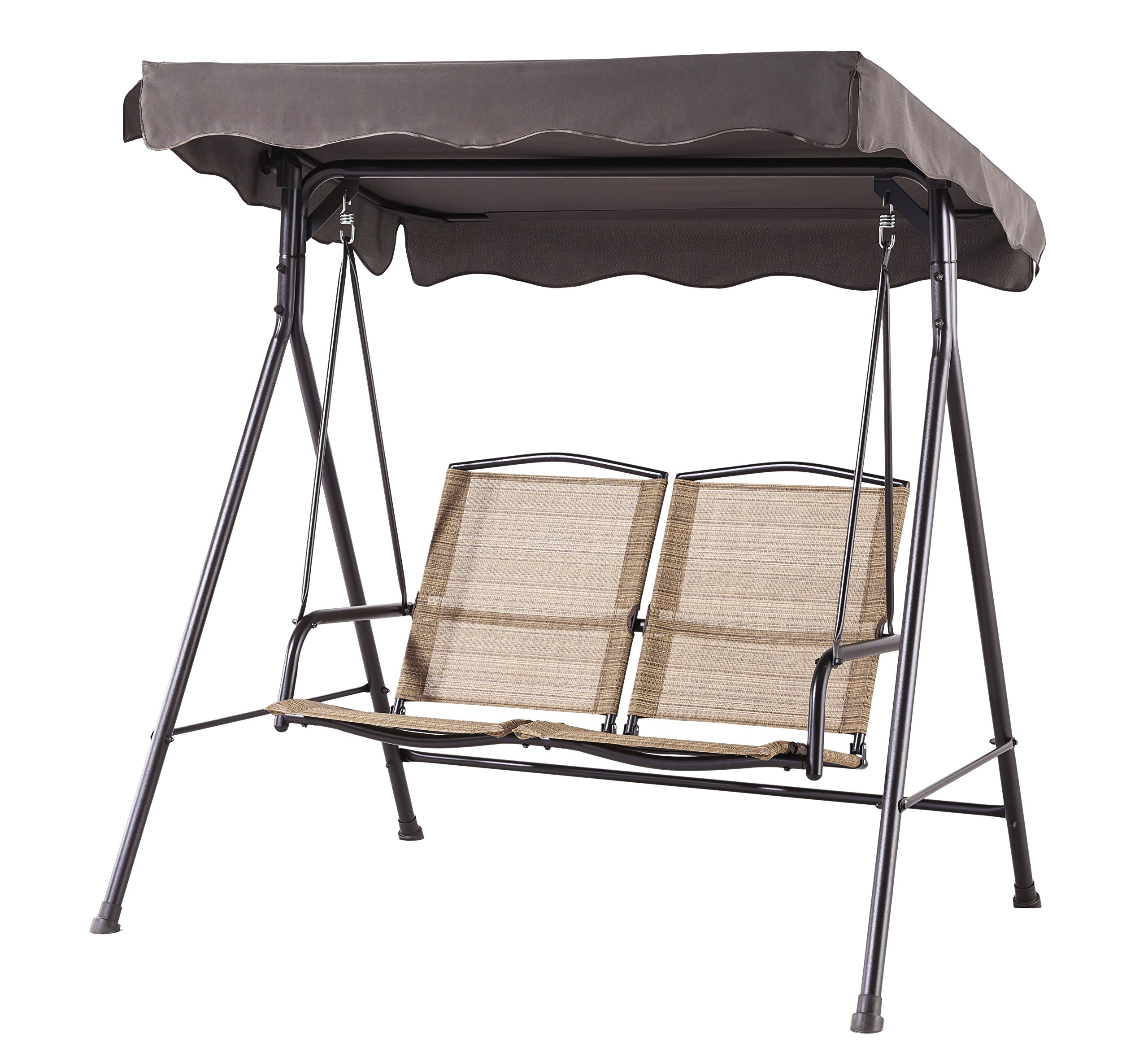 Backyard Classics Porch Swing with Stand and Awning by Backyard Classics
