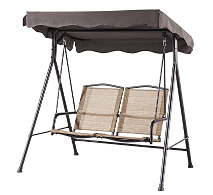 Terrific Dlandhome Outdoor Deluxe Handmade Rattan Porch Swing Large Pabps2019 Chair Design Images Pabps2019Com