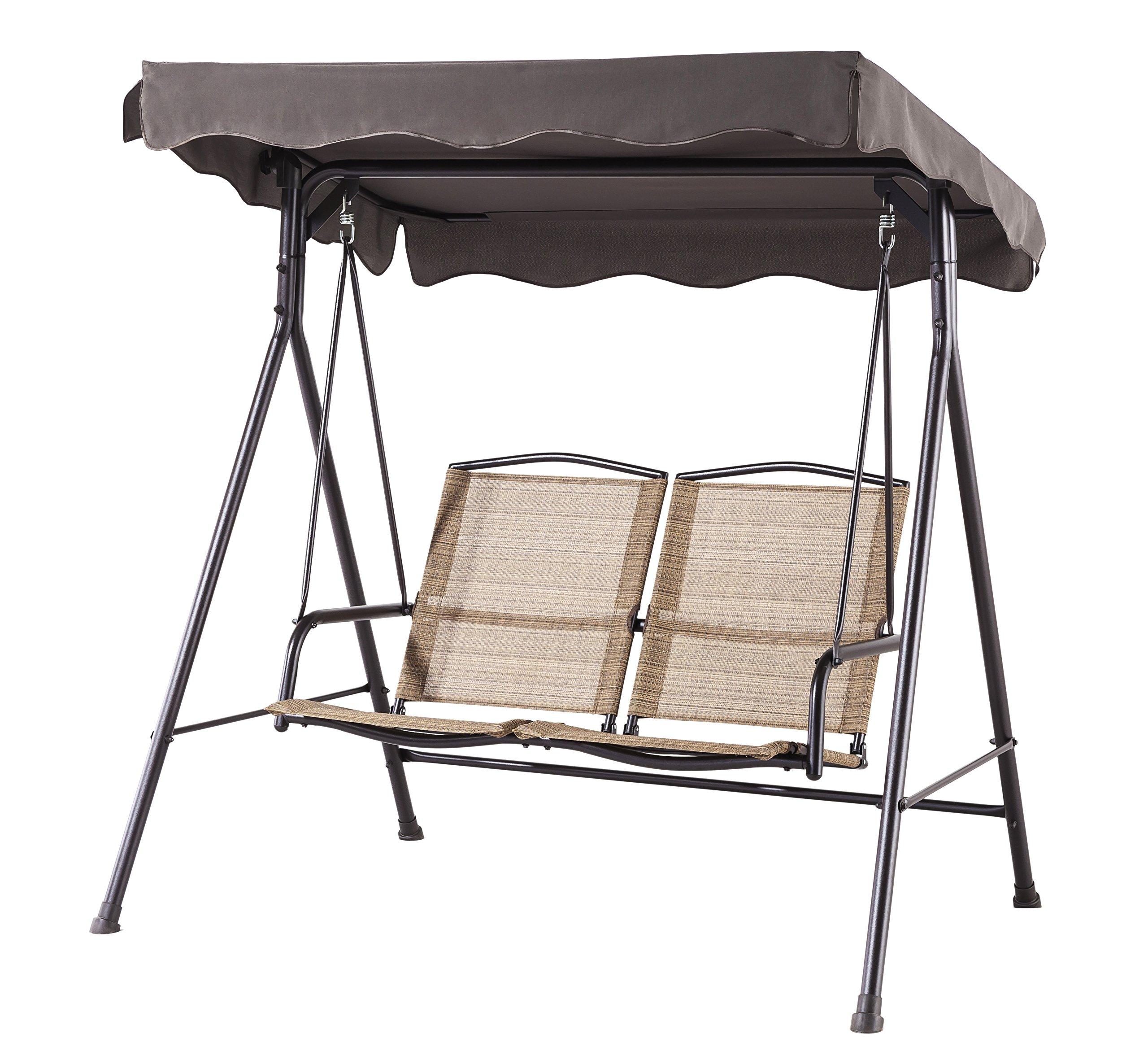 Backyard Classics Porch Swing Stand Awning