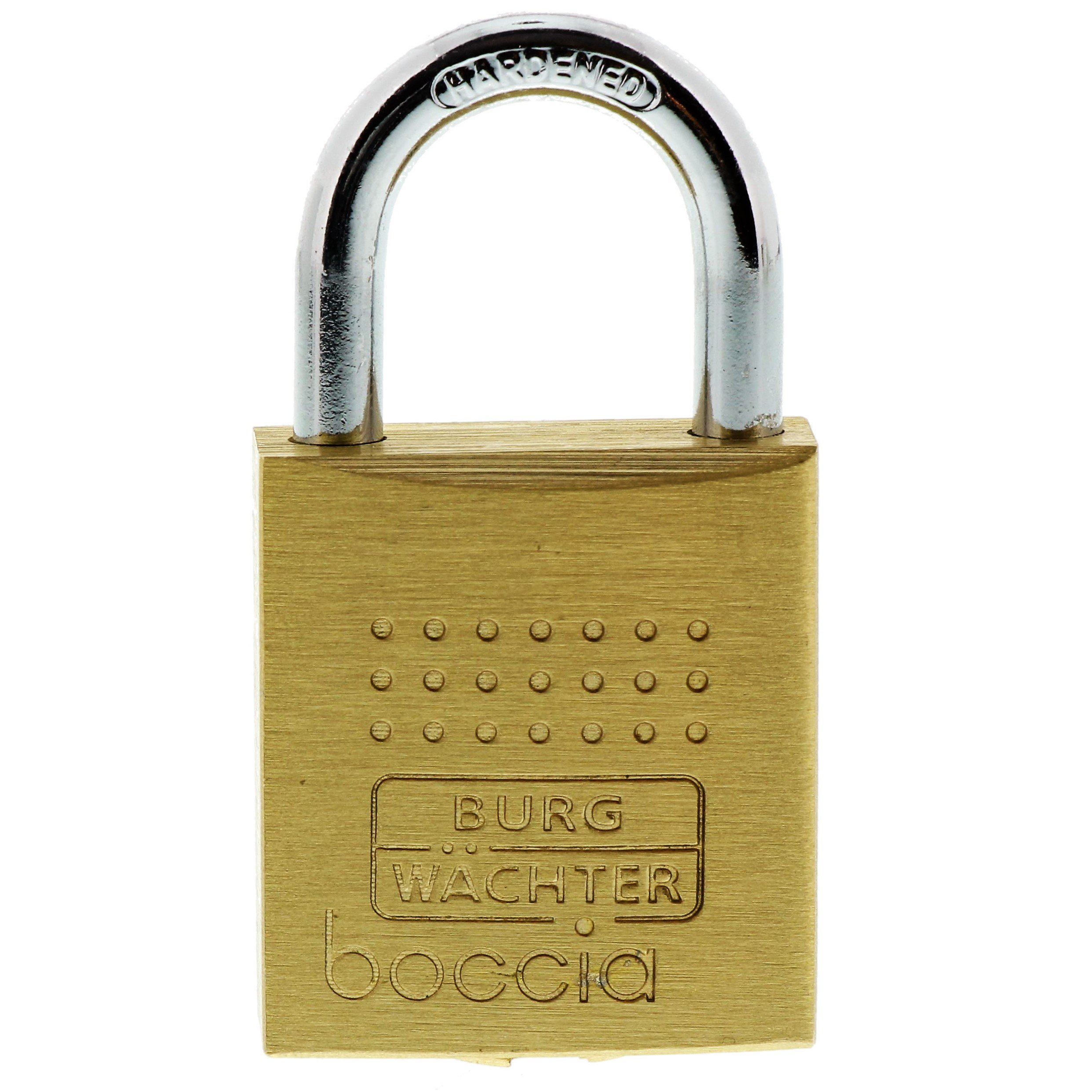 Burg-Wächter Padlock, 5 mm Thickness, Pincers, 4 Keys, Boccia 450 SB-Packed 30 4 Pack of 1