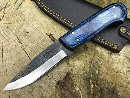 Perkin PK1175 Hunting Knife with Sheath Fixed Blade Knives Bushcraft Knife