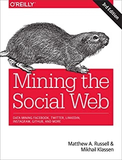 Mining the Social Web: Data Mining Facebook, Twitter, Linkedin
