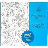 """OMY """"Cosmos"""" - Poster gigante de papel para colorear"""
