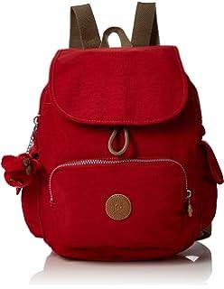 0b7a41e1e Kipling City Pack S, Women's Backpack, Beige (Almond Emb), 27x33 ...