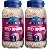 Litehouse Freeze Dried Red Onion, 0.60 Ounce, 2-Pack