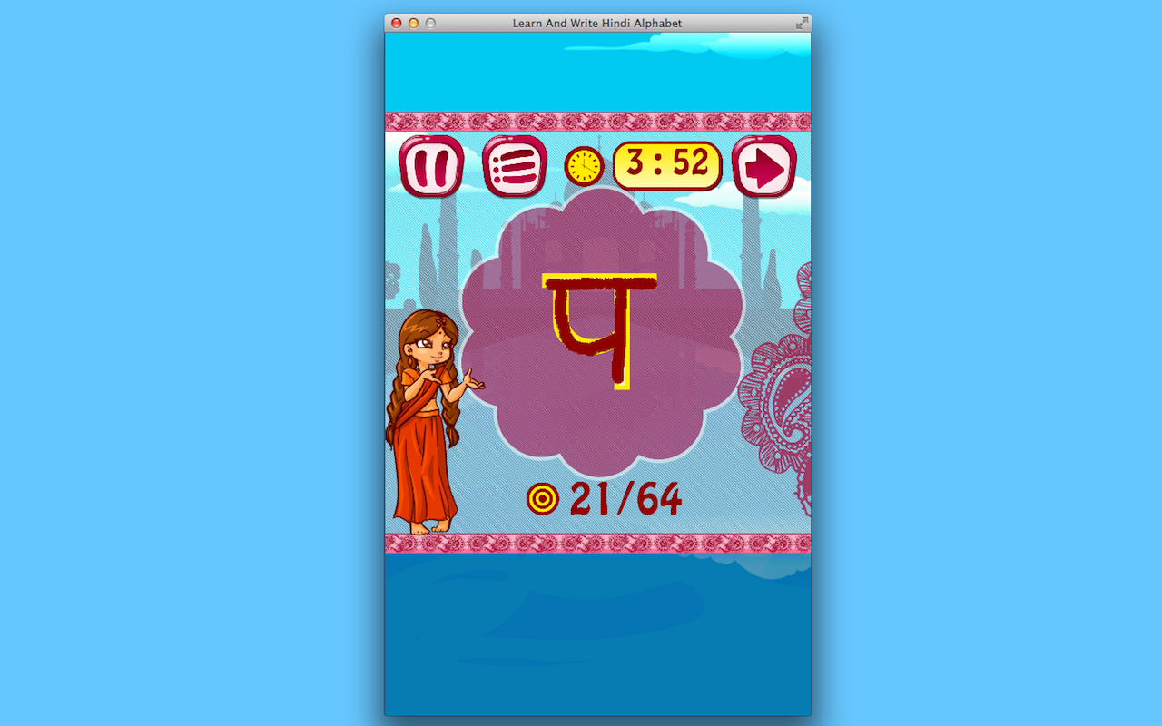 Learn And Write Hindi Alphabet [Download]