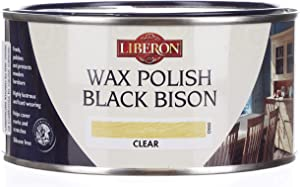 Liberon Black Bison Paste Wax, 500 ml, Clear