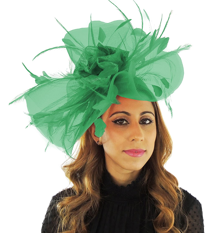 Hats By Cressida - Cappello da - Sole - da Donna Jade verde a32c8b ... 0b0ccdf58578