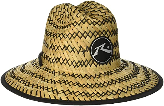 9edb1f2c785e1 Amazon.com  Rusty Men s Boony Straw Lifeguard Hat  Clothing