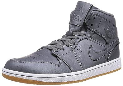 3e4fcda8126d0b Jordan Mens Retro 1 Nouveau Cool Grey White Gum Light Brown Cool 629151