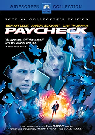 Amazon com: Paycheck (2003): Various: Movies & TV