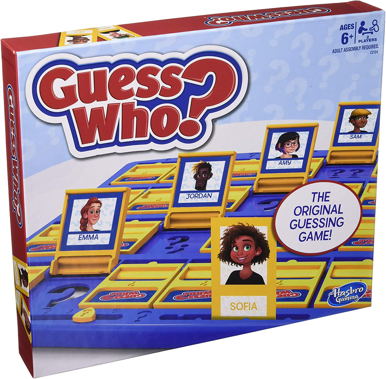 Best Card and board games for 6 year olds featured by top Seattle lifestyle blogger, Marcie in Mommyland: Guess Who?