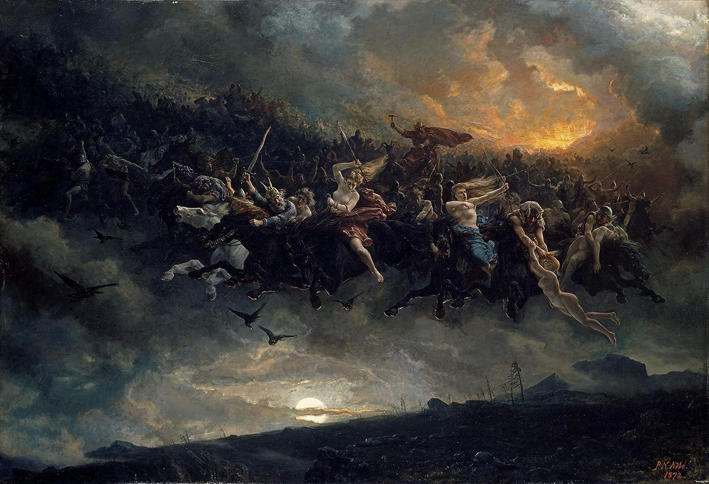 Image result for ragnarok painting