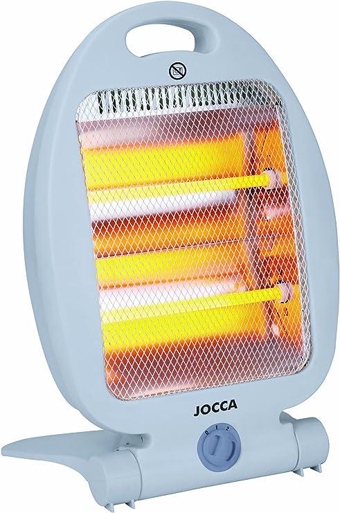 Jocca 2824 Calefactor de cuarzo, Blanco: Amazon.es: Hogar