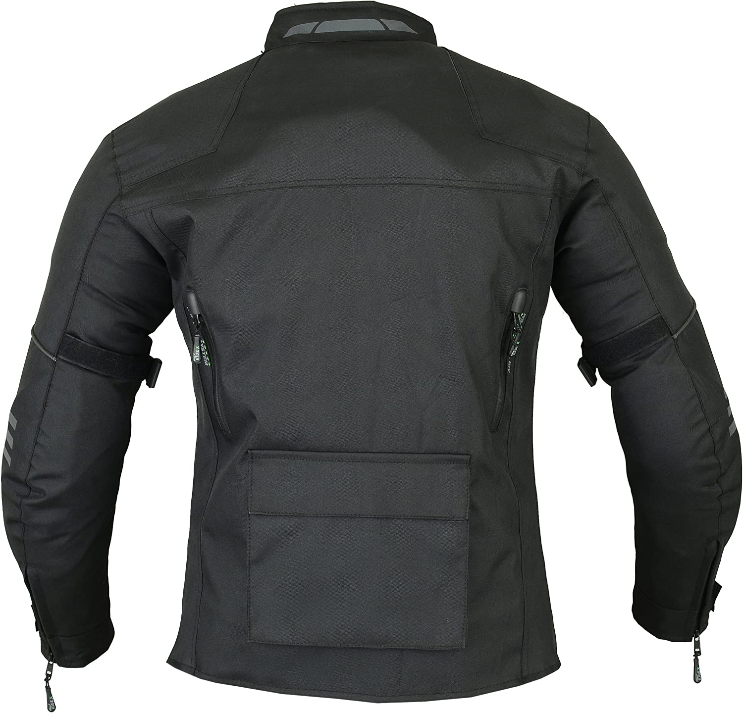 RIDEX Mens CJ1 Motorbike Motorcycle Jacket Protection Waterproof