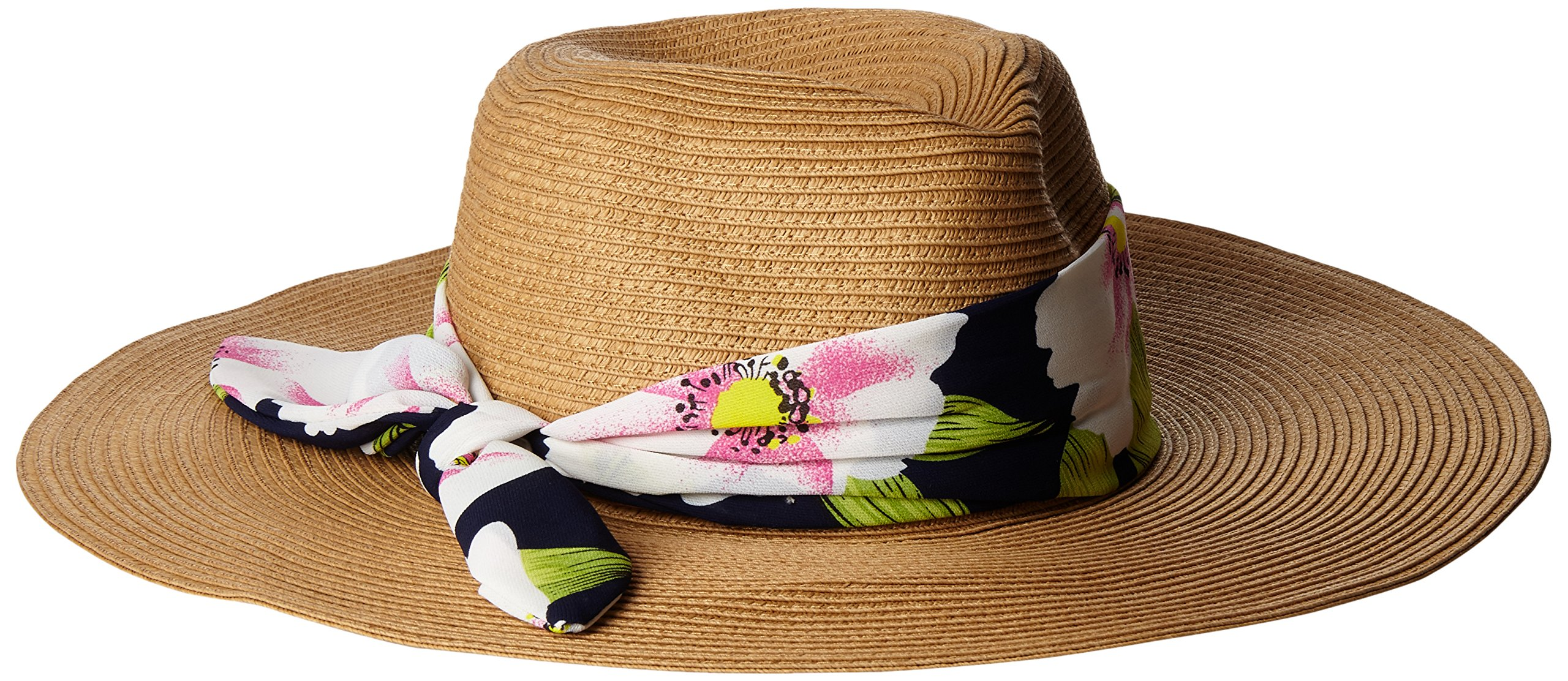 Genie by Eugenia Kim Women's Willa Wide-Brim Fedora, Camel, One Size by Genie by Eugenia Kim
