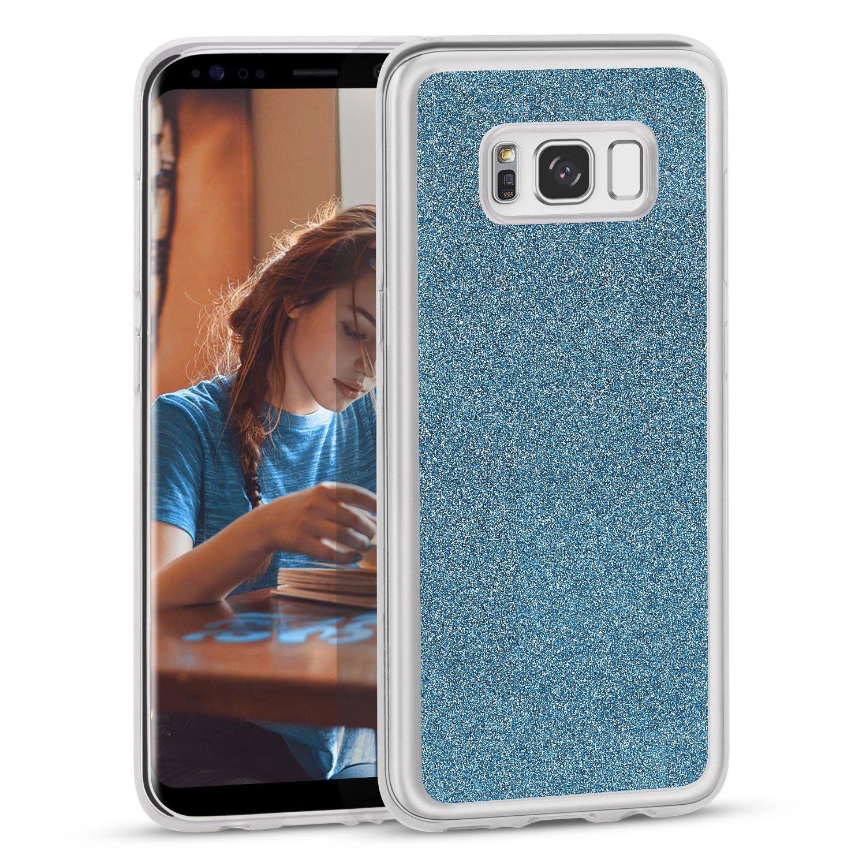 Galaxy S8 Plus Hülle, XY-shell Glitzer Design Soft Flexible Premium TPU Silikon Bumper Style Handyhülle Perfekte Passform Schutzhülle für Samsung Galaxy S8 Plus 6,2  - Lila Galaxy S8 Plus Hülle 2  - Lila 006-04341000PL