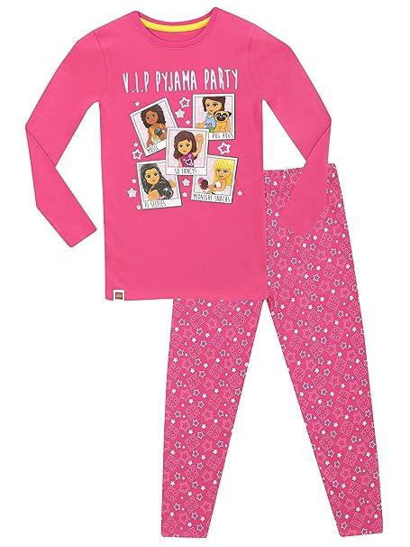 Lego Friends - Pijama para niñas - Lego Friends - Ajuste Ceñido - 11 a 12