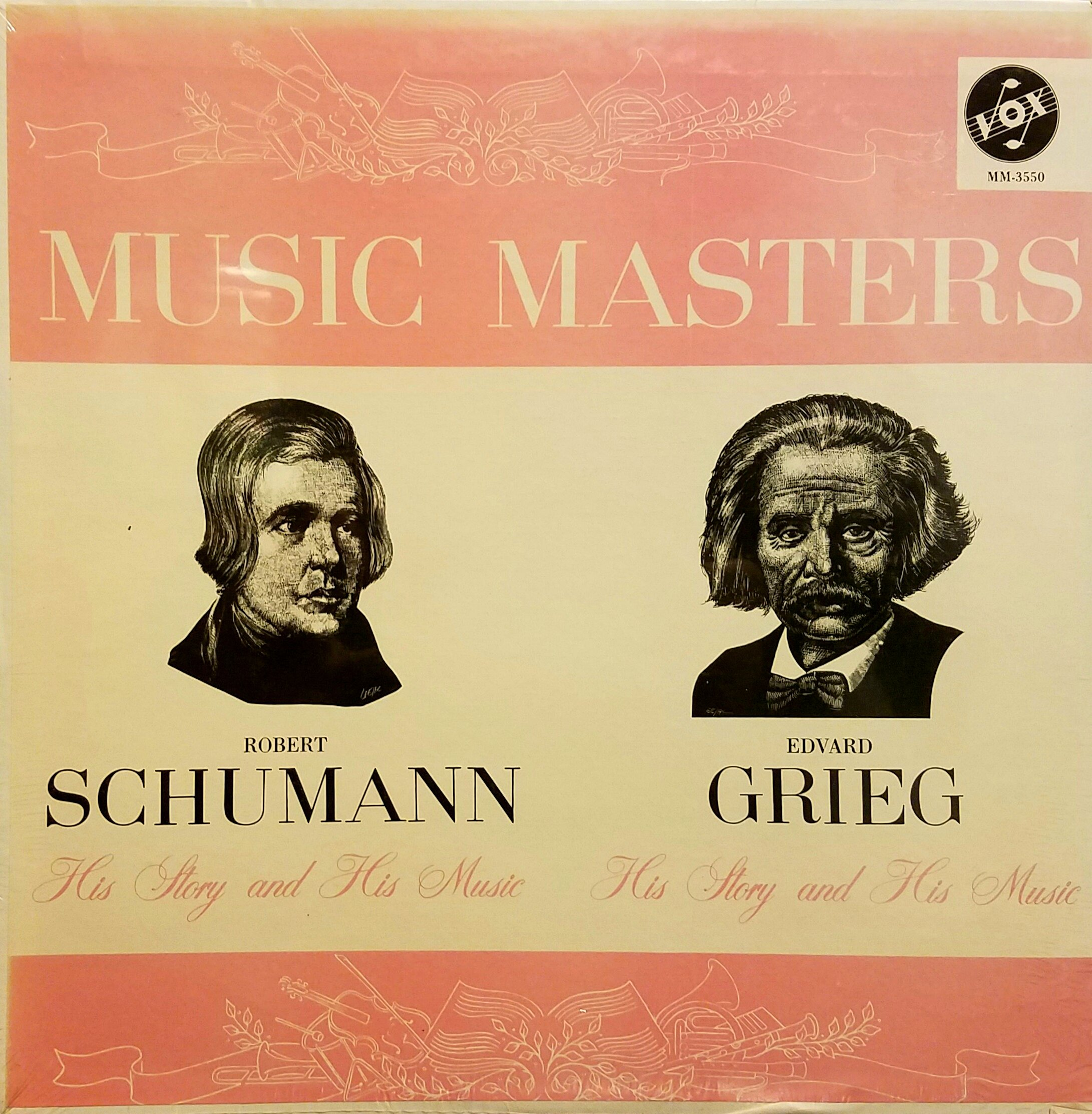 Robert Schumann - His Story and His Music, Edvard Grieg - His Story and His Music by Vox Music Masters