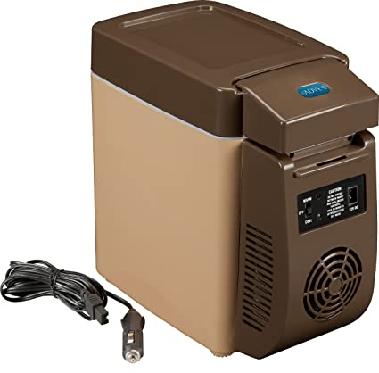 12 Volt Fridge >> Amazon Com 12 Volt Mini Fridge Compact Refrigerators Kitchen Dining