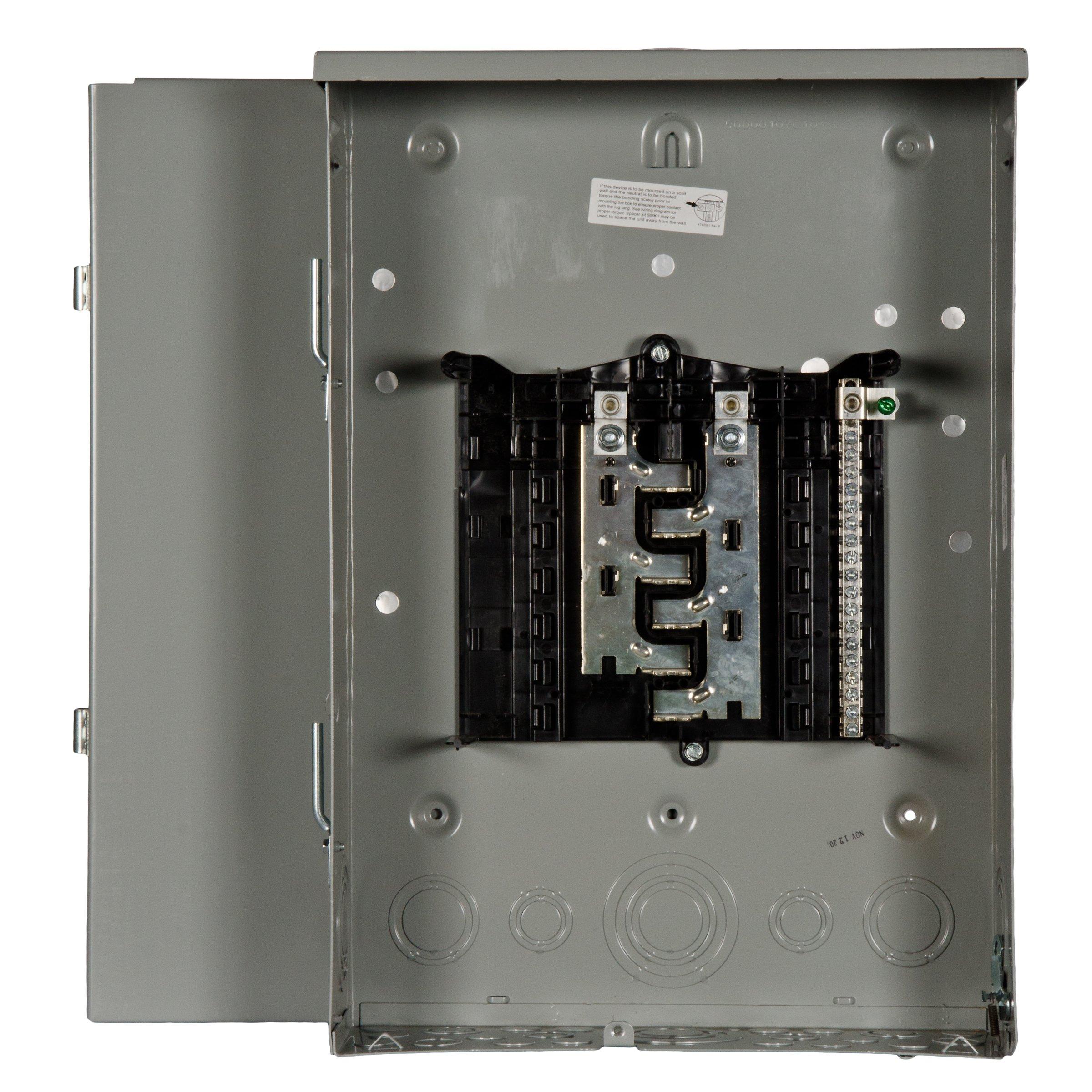 Siemens 12 Space, 24, Circuit, 125 Amp, Main Lug, Outdoor Load Center