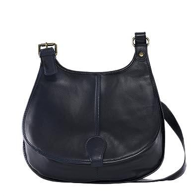 Cuir-Destock sac à main bandoulière cuir souple modèle monroe rouge fonce - nouvelle collection 2018 1EfFRj3D