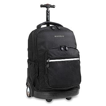 Amazon.com   J World New York Sunrise Rolling Backpack, Black, One ... c161f270e6
