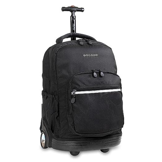b2f9b064b90d J World New York Sunrise Rolling Backpack