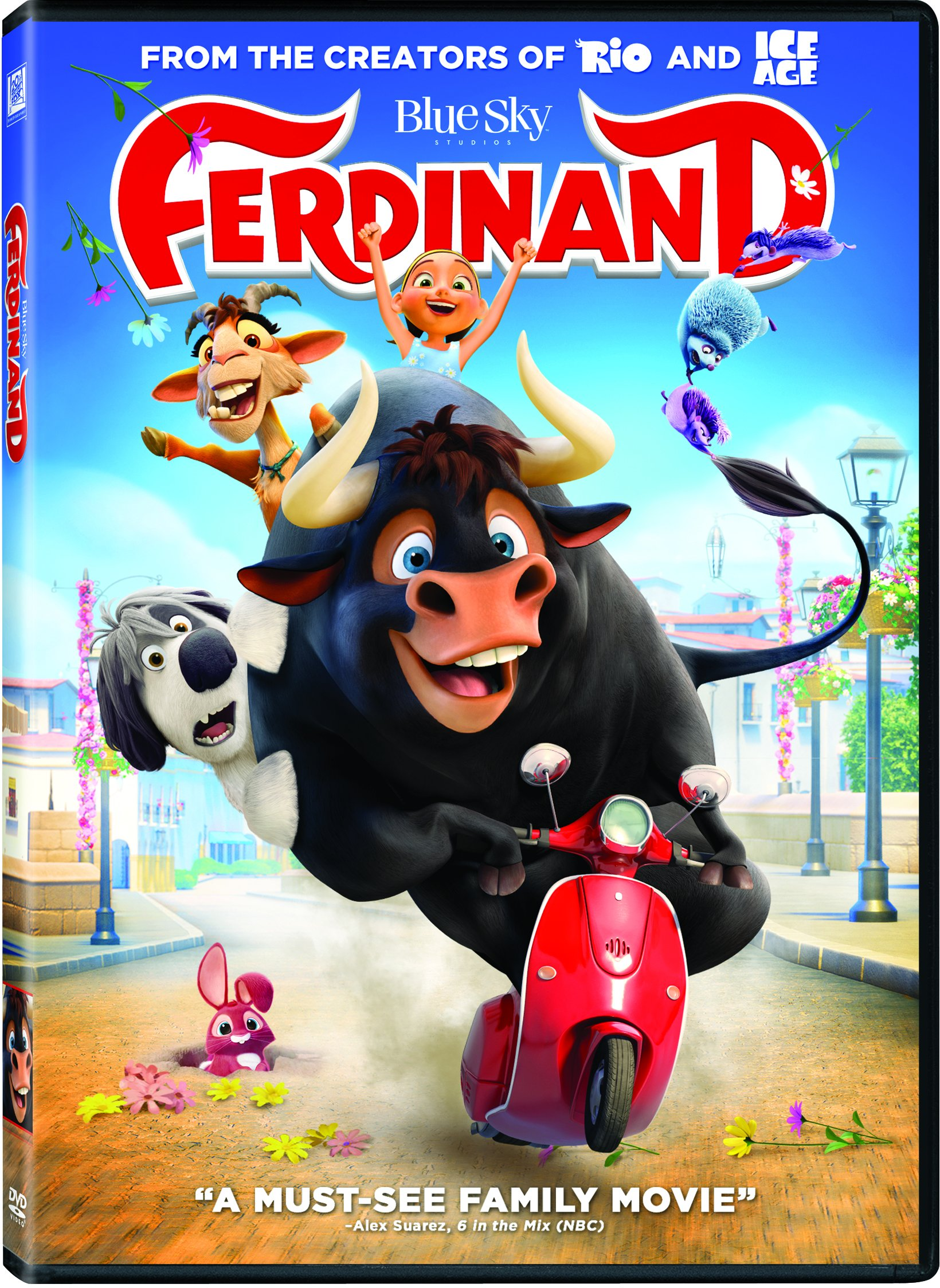 DVD : Ferdinand (Dolby, AC-3, Widescreen, Dubbed, Subtitled)