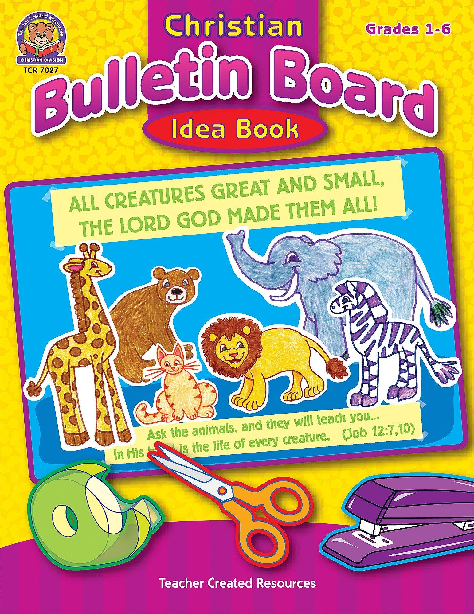 Christian Bulletin Board Idea Book Tucker Mary 9780743970273 Amazon Com Books