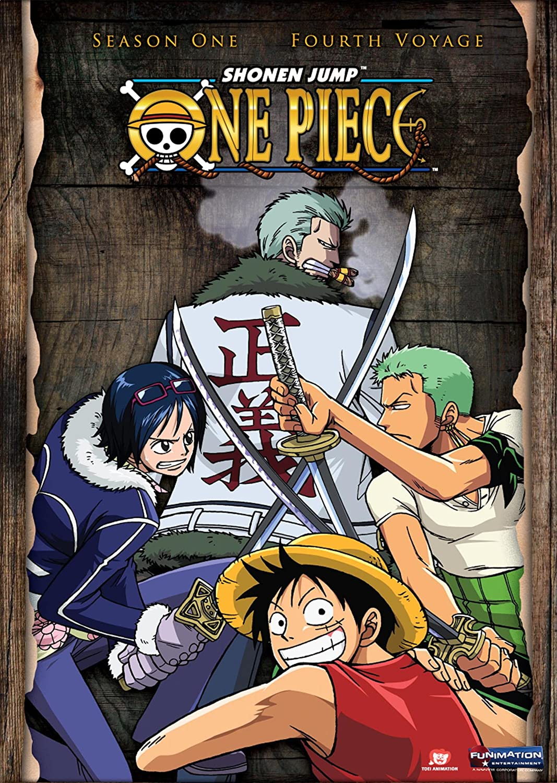 One Piece Season 1: Fourth Voyage [Reino Unido] [DVD]: Amazon.es: One Piece: Cine y Series TV