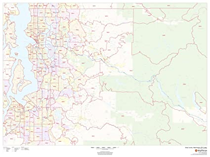 Amazon.com : King County, Washington Zip Codes - 48