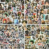 Attack On Titan Anime Stickers Pack [200 PCS] AOT Stickers for Anime Fans,Cool Japanese Cartoon Eren Jaeger Stickers for Kids