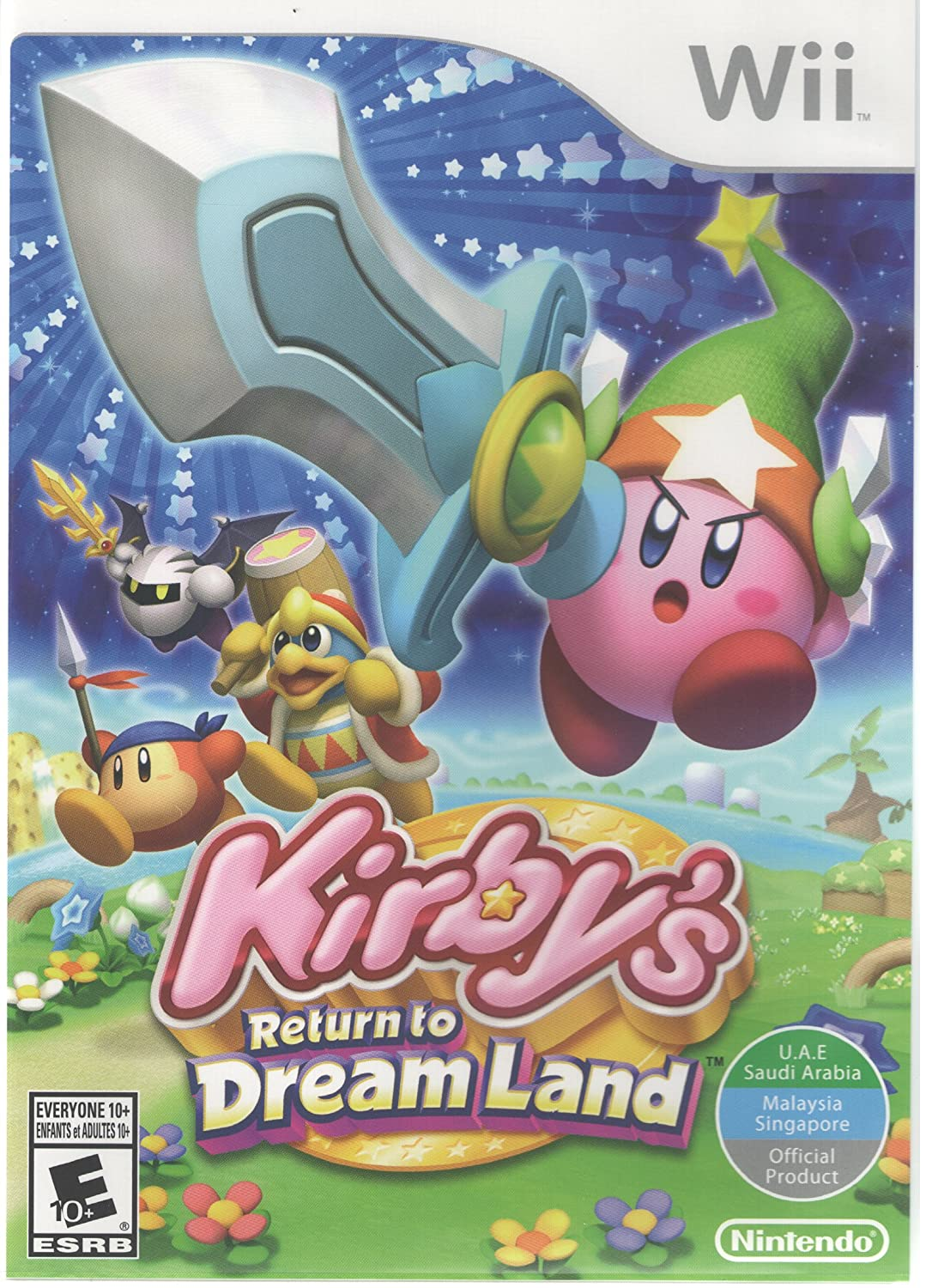 Kirby S Return To Dreamland World Edition Nintendo Wii Video Games