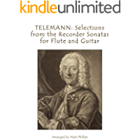 TELEMANN: Selections from the Recorder Sonatas for Flute