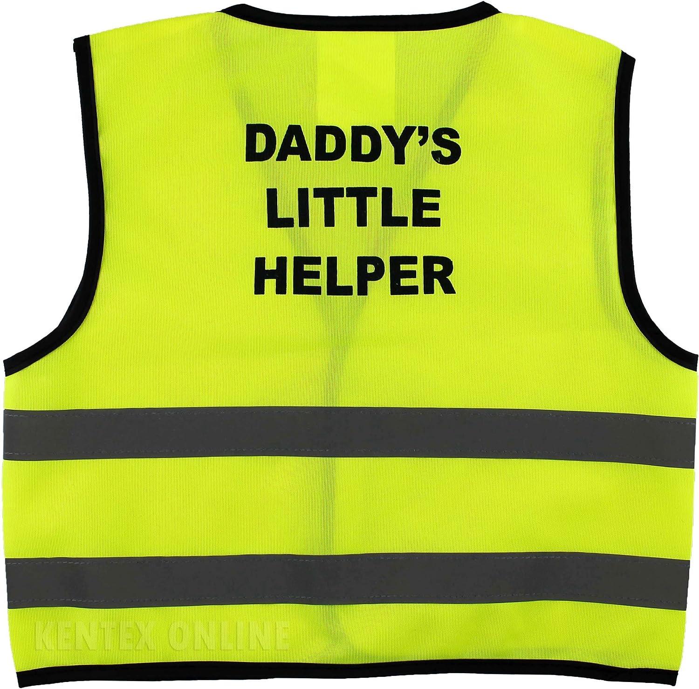 NEW KIDS FANCY DRESS PARTY HI VIS MUM DADDY LITTLE HELPER BOSS SAFETY VEST TOP