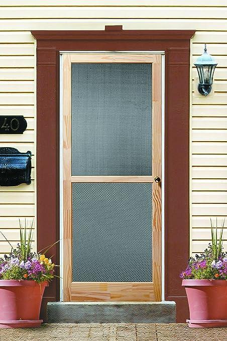 wood door build wooden diy screen doors custom plans designs a
