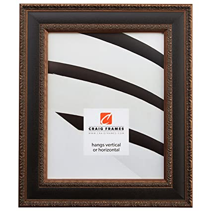 Amazon.com: Craig Frames Galerie, Antique Gold and Black Picture ...