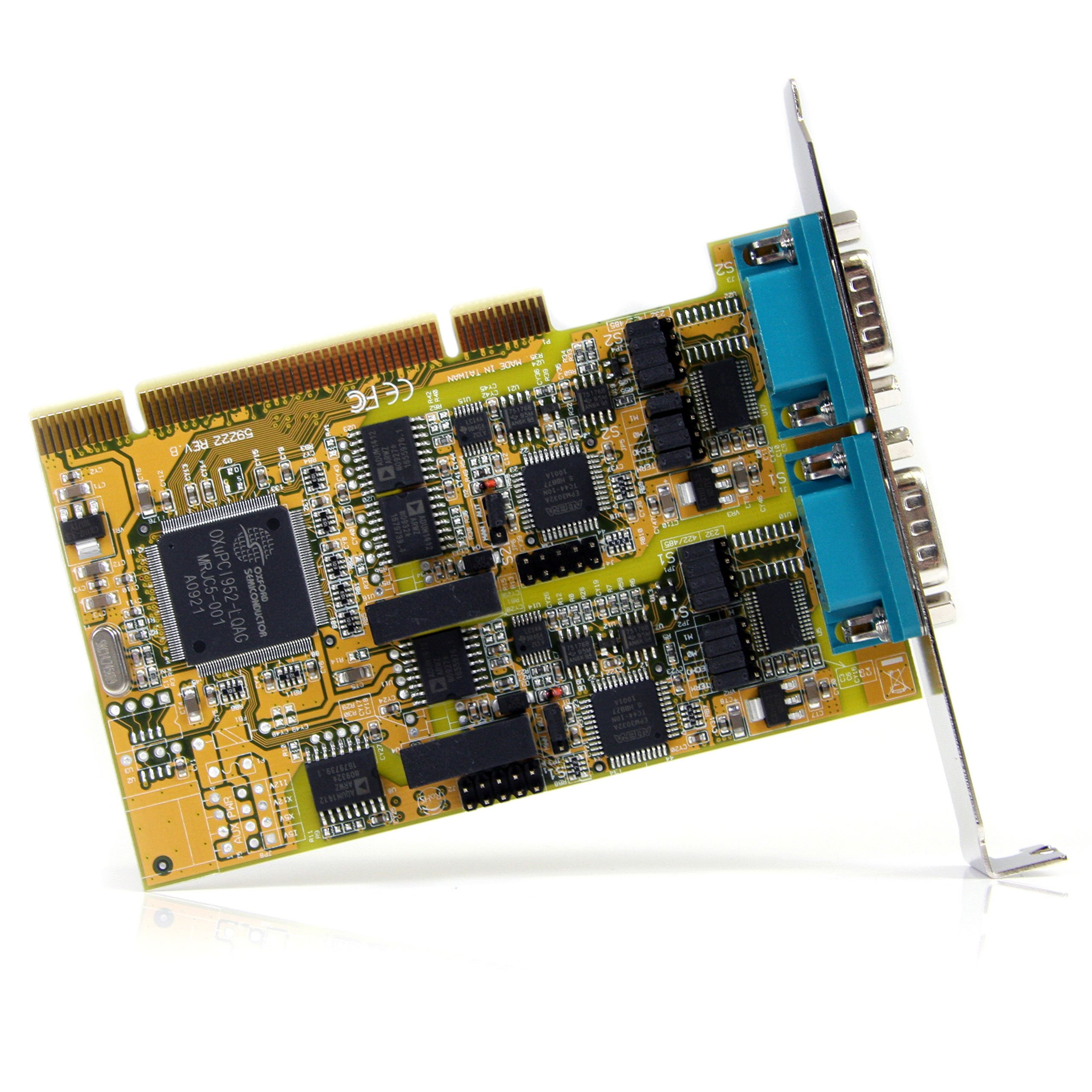 StarTech.com PCI2S232485I 2 Port RS232/422/485 PCI Serial Adapter Card with ESD Protection by StarTech (Image #2)