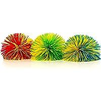 The Original 3-Pack of Monkey Stringy Balls (Latex-Free, BPA/Phthalate-Free) - Great Fidget / Stress / Sensory Toy by…