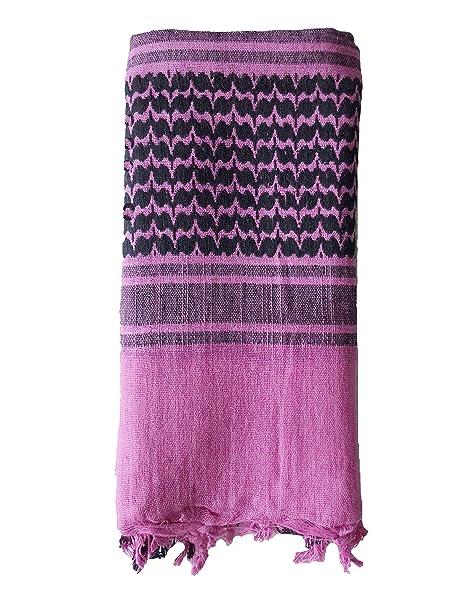 853f5ce61e9039 BW SHEMAG NEU in vielen Farben ISAF BUNDESWEHR PLO TUCH PALI SCHAL  TOPQUALITÄT (Pink / Schwarz): Amazon.de: Bekleidung