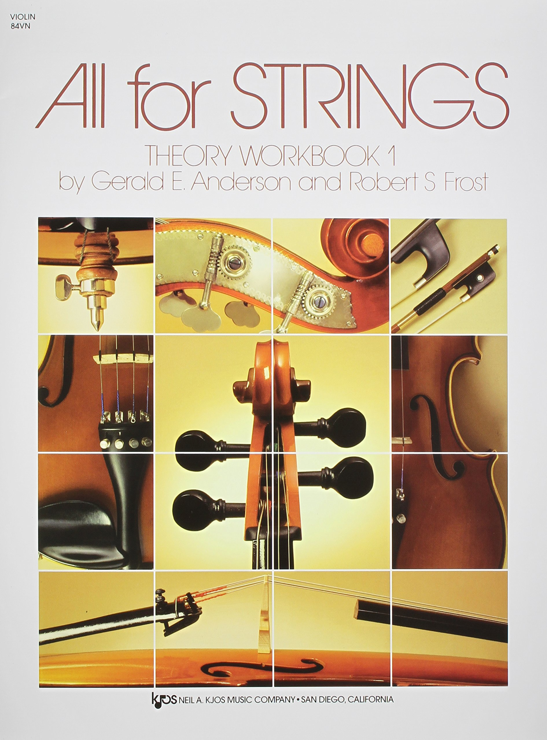 Amazon.com: 84VN - All For Strings Theory Book 1: Violin (9780849732461):  Robert Frost, Gerald Anderson: Books