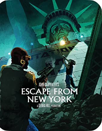Amazon com: Escape From New York [Limited Edition Steelbook