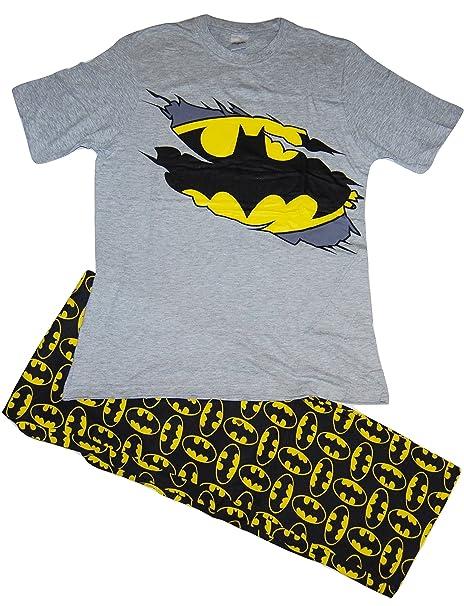 Pijama para hombre con diseño Batman Gris gris ...