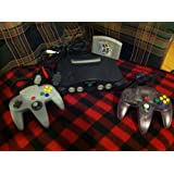 N64 system w/hookups and 2 controllers