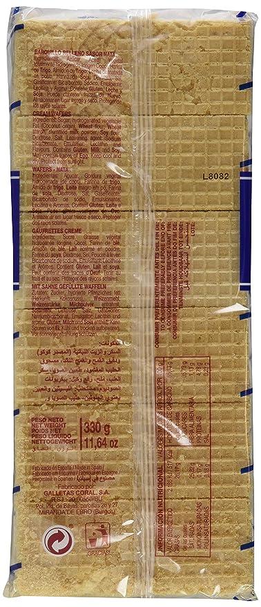 Galletas coral boer nata coral paquete 330 g - [Pack de 6]: Amazon.es: Alimentación y bebidas