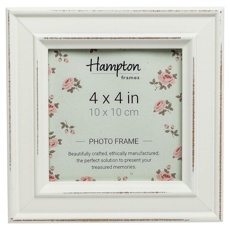 Amazon.com: PAL301944W Paloma Square Photo Frame 4x4 (10x10cm) White ...
