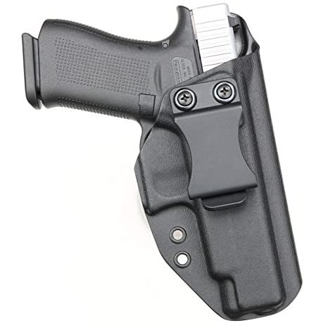 BrotherCraft Kydex Holster for Glock 48 - IWB AIWB, Adjustable Cant and  Ride Height- Made in The USA