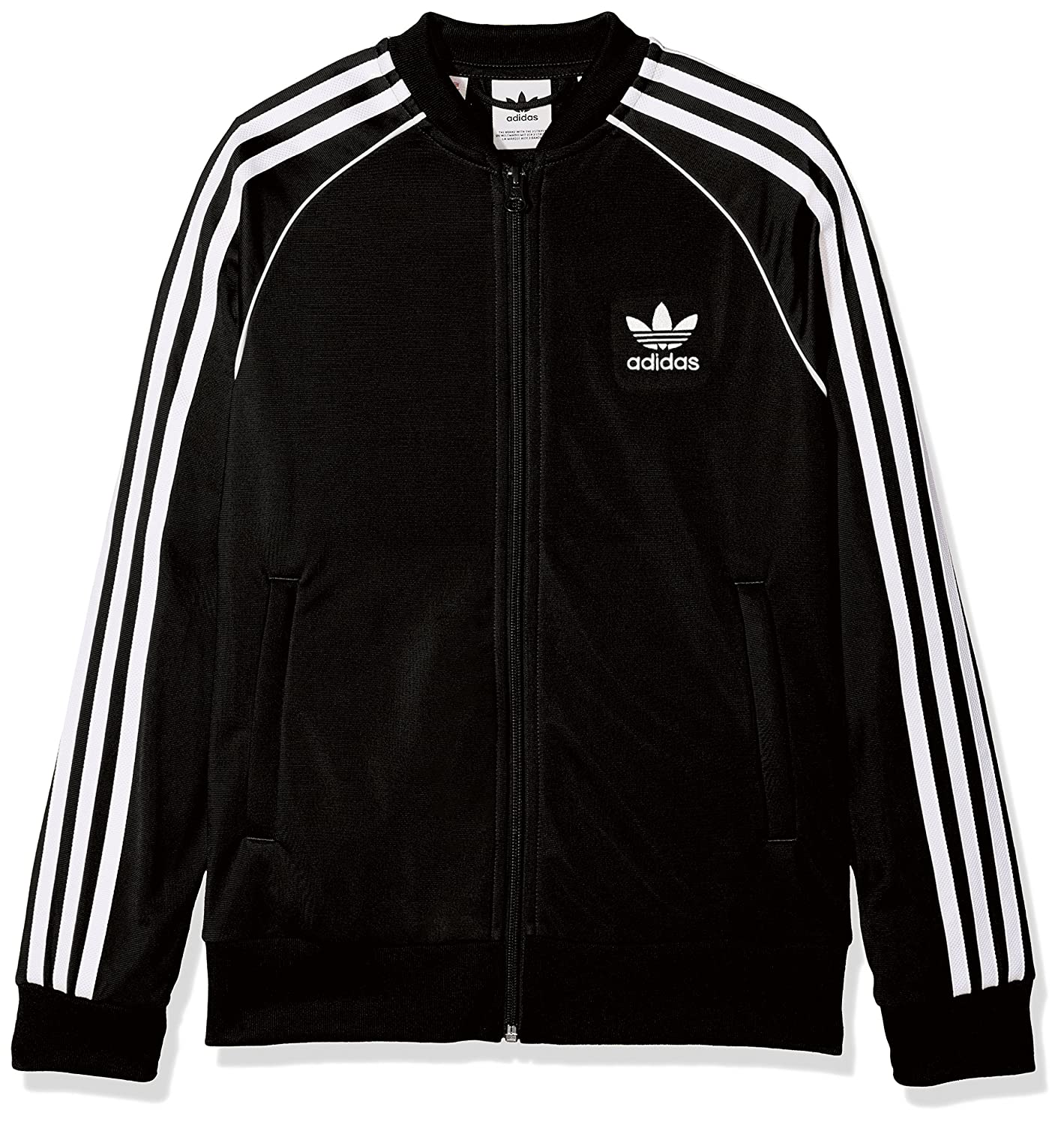 adidas J SST TOP, Giacca Unisex Bambini