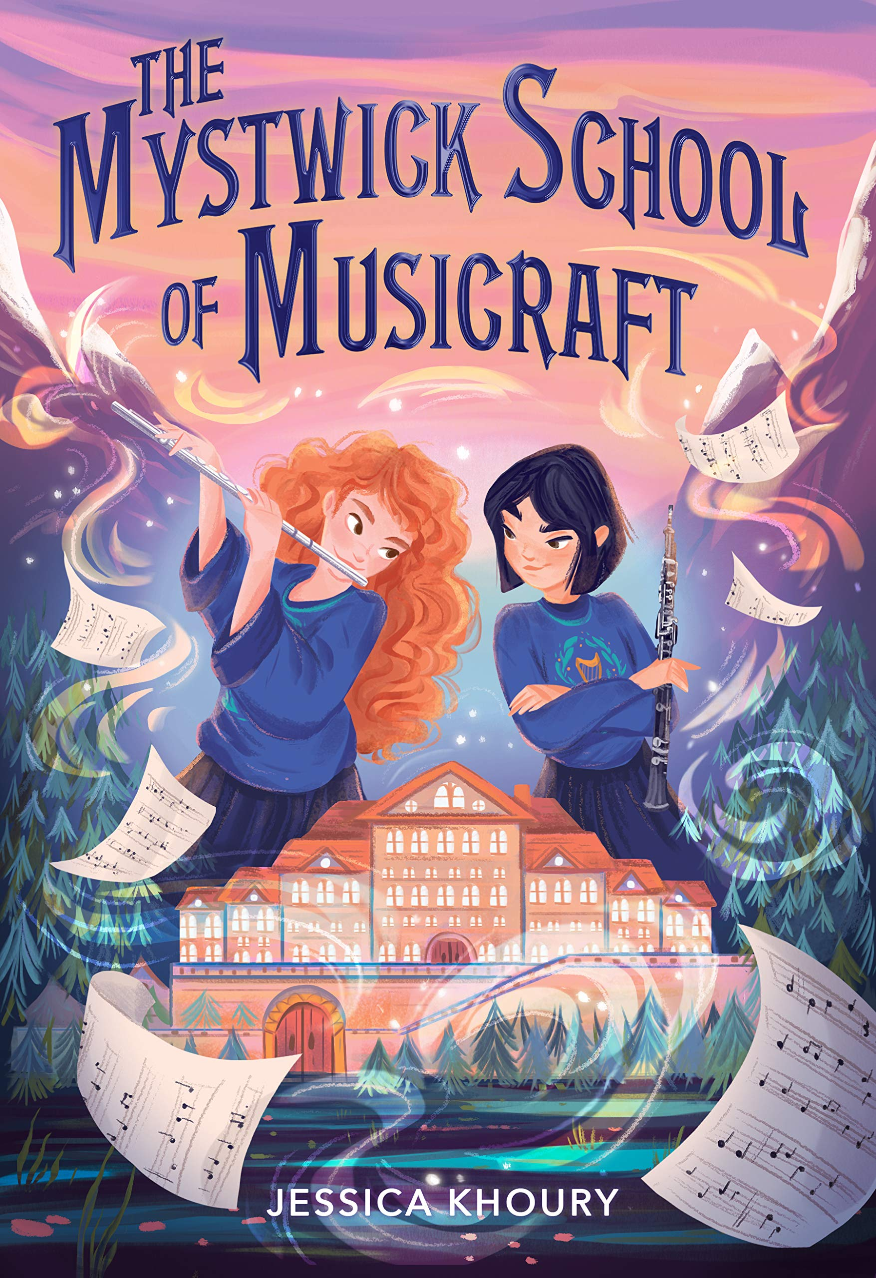 The Mystwick School of Musicraft: Khoury, Jessica: 9781328625632: Amazon.com:  Books